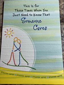 Blue Mountain Arts Card Someone cares (Green)