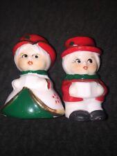 Christmas Vintage Caroler Candle Holders