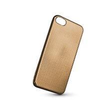 Cover CARBON ELEGANCE Tasche Back Case Hülle Etui Flip LG K10 2017 GOLD