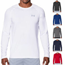 Under armour Patternless Polyester T-Shirts for Men