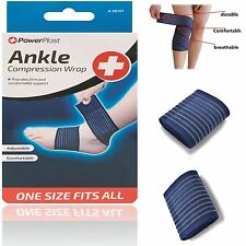 Power Elastic Compression Wrap Brace Bandage Sports Stabilizer Ankle Protector