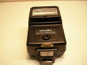 Minolta Auto  200 X Aufsteckblitzlicht