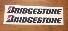 BRIDGESTONE stickers/decals LARGE 300mm quality printed and laminated stickers
