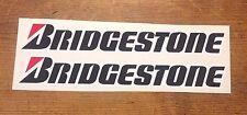 Bridgestone Pegatinas/Calcomanías Grande 300mm Calidad impreso y laminado Pegatinas
