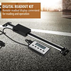Neu 0-200mm Digital Linear Scale LCD Auslese Kit für Fräsmaschinen Drehmaschinen