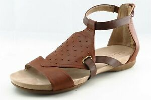 Naturalizer Size 10 W Brown Gladiator Synthetic Women Sandal Shoes