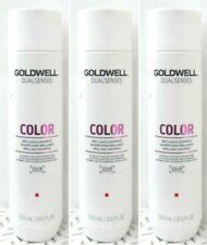 3 Goldwell Dualsenses Color BRILLIANCE SHAMPOO Fine to Normal Hair 10.1oz Ea(014