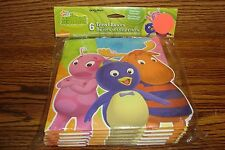 Nick Jr The BACKYARDIGANS #6 Six Treat Boxes, Favor, Loot Boxes Birthday Party