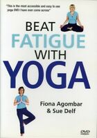 Beat Fatigue With Yoga [New DVD] NTSC Format, UK - Import