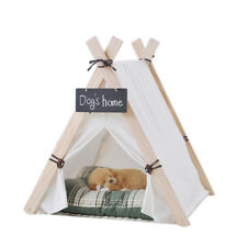 PLADY Pet Dog Puppy Cat Bed Washable Portable Pet Tent House Kitten Kennel Tent