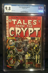 Tales from the Crypt 1  CGC  9.8 NM/M   White Pages NEW CASE