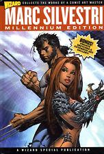 MARC SILVESTRI Millennium Edition HC Artbook Sketchbook WITCHBLADE WOLVERINE