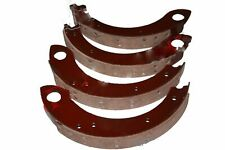 Brake Shoes Set of 4 With Brake Linings For Ford Tractor @us