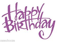 Crafts Too - Presscut Die Cutting & Embossing Stencil - Happy Birthday - PCD02