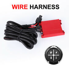 Wiring Harness Switch Relay Kit For LED Driving Light Bar SUV ATV Remote Control