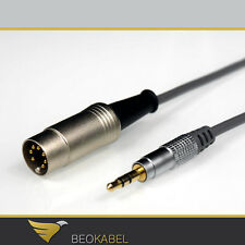 (8,30 €/M) Premium Cable 3m for b&o e.g. iPad iPod/jack to Bang & Olufsen AUX