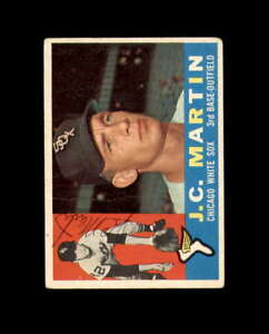 J.C. Martin Hand Signed 1960 Topps Chicago White Sox Autograph
