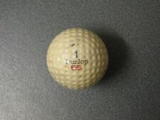 Original Vintage DUNLOP GOLF BALL 1970s/early 1980s dimple, owned since new