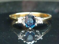 Stunning 18ct gold Sapphire and diamond ring - WOW what a price!