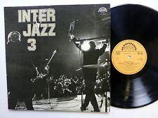 INTER JAZZ 3 LP Supraphon 1976 Near-MINT Vinyl JAZZ Poland  #419