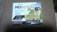 PetAction Plus Flea & Tick Drops for Large Dogs 89-132 lbs.3 Doses NEW! GREAT!