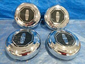 1993 1994 1995 1996 1997 LINCOLN TOWN CAR NEW A/F  WHEEL / RIM  CENTER CAPS SET