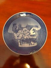 """1997 Royal Copenhagen Rc Christmas Plate """" Roskilde Cathedral """""""