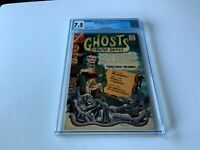 MANY GHOSTS OF DR. GRAVES 1 CGC 7.5 STEVE DITKO CHARLTON COMICS