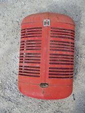 Farmall Super C Sc Ih Tractor Nice Original Nose Cone Grill With Screen Emblem