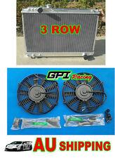 aluminum radiator FOR toyota Supra Soarer MK3 7M-GTE 1986-1992 3000CC MZ20 + FAN