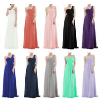 Women's Chiffon Wedding Bridesmaid Long Evening Party Prom Cocktail Maxi Dress