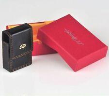 Lighter Case bag belt holster leather case Gold logo for S.T. Dupont Lighter