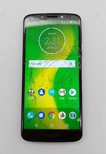 Motorola Moto G6 Forge 16GB Deep Indigo Cricket Wireless Poor Condition