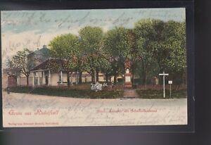 Radolfzell - Städtische Anlagen mit Scheffeldenkmal - 1902