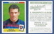 FIGURINA CALCIATORI PANINI 1994/95 - NUOVA/NEW N.56 DI BITONTO - CAGLIARI