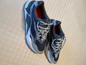Puma RS-G spikeless golf shoe - size 11.5 - Peacoat/Grey/White - New