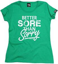 Dolor mejor que curar para Mujer T-shirt entrenamiento regalo de cumpleaños que ejecutan Runner