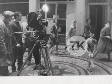 ZAZIE DANS LE METRO Louis MALLE Catherine DEMONGEOT Camera Tournage Photo 1960
