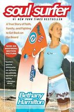 Soul Surfer paperback by Bethany Hamilton FREE SHIPPING true shark attack story