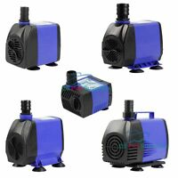 90-1450 GPH Aquarium Fish Tank Fountain Submersible Water Pump