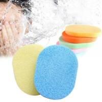 5pcs Face Facial Wash Pad Makeup Remover Cleaning Sponge Puff Exfoliator Scrub