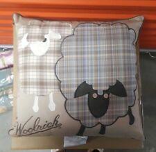 Vintage Woolrich Lamb Sheep Toss Pillow