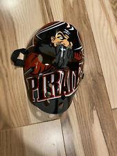 Vintage Portland Pirates Black And Red Goalie Fave Mask EHL Hockey Fan Mask