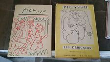 Pablo Picasso Rare book Les Dejeuners First Edition 1962 Ships in 24 hours!