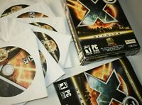 X3 Reunion 2.0 inc/ Bala Gi's Research Missions PC Game in Retail Box Rare