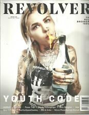 Revolver August September 2018 Youth Code Nothing Ho99o9  Nine Inch Nails Vein
