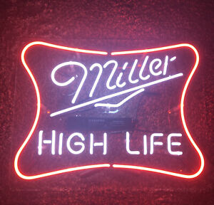 Miller High Life Neon Sign 18x14 Works Great!!