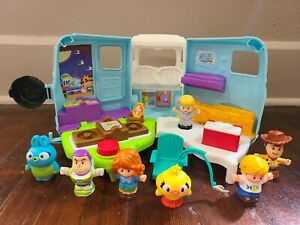 Little People Disney Toy Story 4 RV Camper and Figures Set