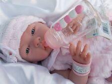 ILANA BEBE BIBERON  TETINE TENUE SEXUE FILLE JOUET REBORN IDEAL POUR ENFANT neuf
