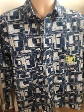 Camisa Vintage De Calvin Klein Para Hombre Reino Unido M